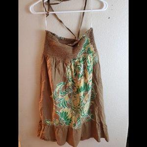 Roxy Dresses - Roxy Floral Halter Summer Sundress Boho Dress